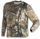 Browning Realtree Extra Long Sleeve Camo T-shirts S-LG Hunting 100% cotton tee