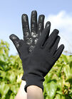 RHINEGOLD Neoprene type Fleece Lined Thermal Gloves, silicone grip palms -S,M,L