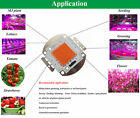 10w 20w 30w 50w 100w COB full spectrum led chip 380nm~840nm plant grow light