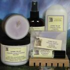 Womens Bath n Spa Gift Set Lavender Soap Lotion Cologne Body Spray Candle