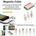 NEW Magnetic Charger Sync Data Cable Lead for Iphone 5C 5S 6 6S 6Plus 7 iPad