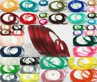 Satin Polyester Ribbon for Weddings Cakes Crafts Fabric Cord many colors 6-20mm