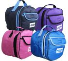 CARIBU Horse Riding HELMET CARRY BAG, Padded, Glove Pocket, W'proof, 5 Colours