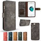 PU Leather Removable Wallet Magnetic Flip Card Case Cover for iPhone 7 & 6/6S Pl