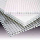 4mm Clear Polycarbonate Twin Wall Roofing Sheet 3.5m long In Various Widths