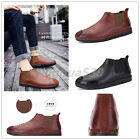 Men's Retro Spring Autumn Soft Leather Driving Shoes Casual Moccasins Unique
