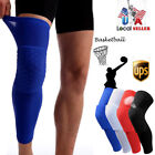 Hot Kids Adult Basketball Leg Knee Pad Long Sleeve Protector Gear Crashproof UPS