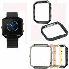Polished Stainless Steel Metal Frame Replacement Holder Shell For Fitbit Blaze