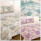 VINTAGE SWEET DREAMS DOUBLE OR KING COMPLETE DUVET SET SHABBY CHIC STYLE