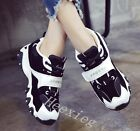 New Womens Fashion Sneakers Lace Up Athletic Shoes Jogging Sports Size Runing Sz