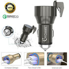 Universal 12V Dual USB Car Charger 4.8A Cigarette Lighter Power Plug For iPhone