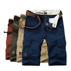 AFS JEEP Men Cargo Shorts Combat Regular Fit Trousers Fashion Beach Casual Pants