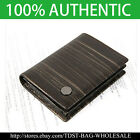 [OMNIA] Korea MEN'S GENUINE LEATHER  Business Card Holder/ Case MW606E Metallic
