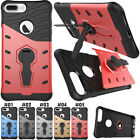 For Apple iPhone 7 Plus Back TPU+PC Kickstand Hybrid Various Stand Cover Case