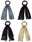 LADIES GLITTER SCARF BLACK, BRONZE, PEWTER OR GOLD AVAILABLE - 90969