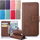 Luxury Dandelion Leather Wallet Card Slot Flip Case Cover For Samsung Huawei
