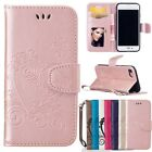 Stand Leather Flip Wallet Cards Strap Case For iPhone 5S 6 6S 7 Plus SE Tohch5/6