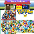 24/144 pcs  Mixed Lots Pokemon Pikachu Monster Mini Random Pearl Figure Toy