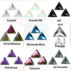 TRIANGLE SEW-ON 3270 FLATBACK SWAROVSKI RHINESTONE JEWELS
