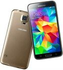 Cell Phones Smartphones - Samsung Galaxy S5 SMG900A 16GB BlackGoldWhite ATT Unlocked Smartphone