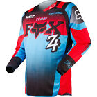 Fox Racing 180 Imperial Red Blue Black Jersey MX Motocross OffRoad Shirt Adult