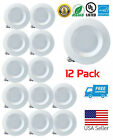 Downlight LED 60/12/4/2 Pack 15W Smooth Recessed Retrofit 5/6 Inch Ceiling Light