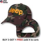 Jeep Logo Cap Emblem Wrangler Grand Cherokee Off Road Embroidered Hat Truck SUV