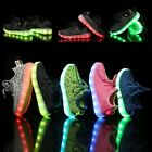 New Flash LED Light Up Shoes For Baby Toddler And Youth Kids Athletic Sneakers