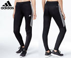 Women's Adidas Soccer Pants Tiro 17 Slim Fit  Climacool Black Skinny Athletic
