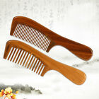 Handmade Sandalwood Natural Antistatic Massage Hair Health Care Comb Wide / Thin