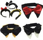 Small & Large Pet Dog Cat Adjustable Formal Bow Tie Collar