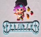 Pinypon Purple Hair Girl with Accessories