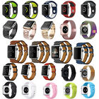 Leather /Stainless Steel/ Milanese Magnetic /Silicone Strap Band For Apple Watch