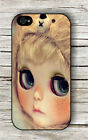 DOLL LARGE EYES GLANCE CASE FOR iPHONE 4 5 5C 6 -esd4X
