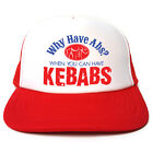 Why Have Abs When You Can Have Kebabs Trucker Hat - Retro Funny Baseball cap