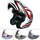DAK FF-936 Modular Flip UP Helmet Motorbike Motorcycle Extra Visor Optional