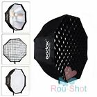 "1~2 PCS Godox 47"" 120cm Octagon Softbox with Grid For Studio Strobe Flash【AU】"