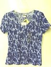 """WOMENS """"JACLYN SMITH""""  TOP, CRINKLE TEE,  SEVERAL COLORS & SIZES"""