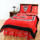 North Carolina Wolfpack Comforter Sham & Blanket Twin Full Queen King Size CC