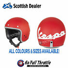 Piaggio Vespa Colors / Colours Scooter Helmets - all colours / sizes available