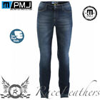 PMJ RIDER LADIES BLUE REINFORCED ANTI-ABRASION MOTORCYCLE BIKE JEANS WITH ARMOUR