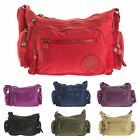 Big Handbag Shop Womens Rainproof Fabric Messenger Cross Body Shoulder Bag1