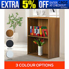 NEW Display Shelves Cube Storage Bookcase 2 Level Tier Home Bookshelf Stand Rack