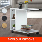 NEW Modern Style Side Coffee Table White Black Storage Office Kitchen Furniture