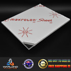 Polycarbonate – Lexan – Makrolon Sheet Clear – SELECT YOUR SIZE – FREE POSTAG...