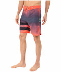 NEW HURLEY PHANTOM Block Party Ink red blue swim board shorts trunk 34 or 36