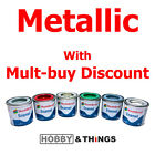 Airfix Humbrol enamel paint Metallic selection tinlet 14ml Metallic Model Paint