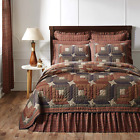 3-pc PARKER Quilt Set * Primitive Star * TWIN QUEEN CAL KING * PRICE MATCH *
