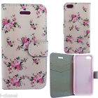 Light Pink Magnetic Leather Flower Wallet Case Cover For SE 4 5 6 PLUS S5 6 7 ED