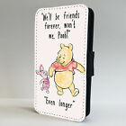 Piglet And Winnie The Pooh Friend FLIP PHONE CASE COVER fits IPHONE & SAMSUNG